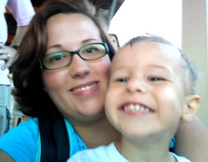 Amanda and Baby